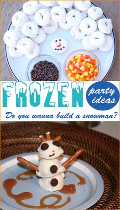 Frozen Birthday Party.  Creative ideas for a boy or girl birthday party.  Do you wanna build a snowman?  Frozen-themed food, Frozen party decorations and Frozen party favors.  Tips and tricks to a successful Disney Frozen party.