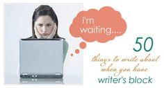 writers block button