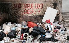 FOTOS: Ruas do Rio viram 'lixão' após greve de garis