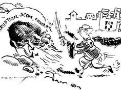 The best of 'Common Man' (in photos) by R K Laxman.