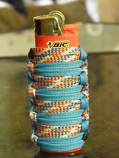 ~Ahh good memories, my first paracord lighter wrap (: