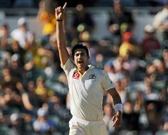 Mitchell Starc (Aus) finished with 8 wickets in Test, vs South Africa, 3rd Test, Perth, day 3, December 2, 2012