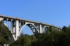 Colorado Street Bridge is listed (or ranked) 13 on the list 17 Hollywood Ghost Stories and Urban Legends