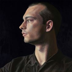 Lambert - 'My Son', 2014 Oil on Panel; 40 x 40 cm
