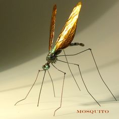 mosquito metal sculpture #sculpture #metal