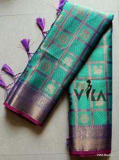 Banaras kora silk