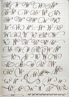 Graffiti Lettering Fonts, Tattoo Lettering Fonts, Hand Lettering Alphabet, Lettering Styles, Script Fonts, Calligraphy Letters Alphabet, Handwriting Alphabet, Nice Handwriting, Cursive