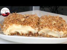 🔝HER YİYENE TARİF VERDİĞİM 💯TAM ÖLÇÜYLE KESİN Tutan✅ MUHALLEBİLİ KADAYIF Tatlısı🏆 - YouTube Coconut Flakes, Spices, The Creator, Ethnic Recipes, Karma, Food, Youtube, Spice, Essen