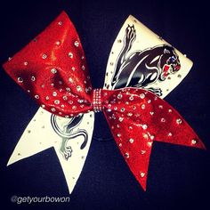Cheer bow of the day. by @getyourbowon  #CA #Panthers #BABS #red #bling #pretty #majors #fierce #meow  Tag #cheerbowoftheday to be featured. #cheerbow #cheerbows #cheer #cheerleading #cheerleader #cheerleaders #allstarcheer #glitter #cheerislife #bows #hairbow #hairbows #bling #bigbows #bigbow #fabricbows #hairclips #grosgrainribbon #dance#ribbon