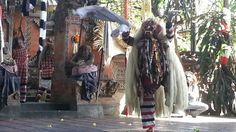 Keris and barong dance
