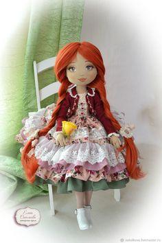 Анюта. Большая текстильная кукла – купить в интернет-магазине на Ярмарке Мастеров с доставкой - FDG9HRU