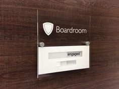 Because Only the best will do ! ...  Top Notch Sliding Door Signs Vacant • Engaged http://www.de-signage.com/office_signs_for_doors.php