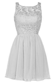 Cheap Sheer Neck Coral Lilac Wine Black Purple Silver Lace Short Bridesmaid Dresses 2015 Elegant Chiffon Wedding Party Dresses