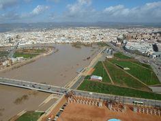 Crecida río Guadalquivir 24.10.2010