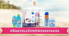 Bartells has all your travel necessities for Tahiti! #BartellSunSweepstakes