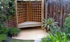 Building A Deck 678284393857922710 - 23 Easy-to-Make Ideas Building a Small Backyard Seating Area Source by bourlierval Small Backyard Design, Backyard Seating, Small Backyard Gardens, Small Backyard Landscaping, Pergola Patio, Patio Design, Outdoor Gardens, Garden Design, Small Patio