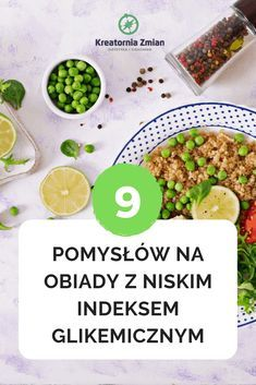 9 pomysłów na obiady z niskim ig Clean Recipes, Cooking Recipes, Banana Drinks, Low Glycemic Diet, Party Snacks, Healthy Lifestyle, Good Food, Food And Drink, Weight Loss