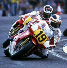 FREDDIE SPENCER vs EDDIE LAWSON. Dogninton Park 1987