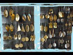 Large Metal Earrings Ladies Fashion, Art Pieces, Metal, Earrings, Accessories, Women's Work Fashion, Ear Rings, Stud Earrings, Female Fashion