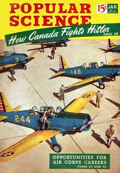 Popular Science, How Canada Fights Hitler, january 1942.
