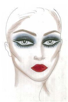 """Scala""Sketch by Pat McGrath"