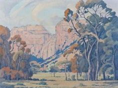 Jacob Hendrik Pierneef - artwork prices, pictures and values. Art market estimated value about Jacob Hendrik Pierneef works of art. South African Art, African Paintings, Mountain Art, Art Auction, Landscape Paintings, Landscapes, Art Market, Geology, Art Reference
