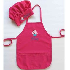 Personalized Apron and Chef Hat for Kids