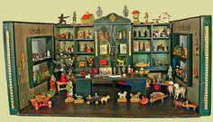 de poppenhuizen van dick en lia- Speelgoedwinkel- 1920-1930