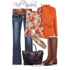 Orange for Fall - Polyvore