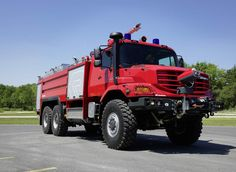 "List View | Daimler Global Media Site > Brands & Products > Daimler Trucks > Mercedes-Benz CVs  ******   Interschutz 2015: Fire brigade - Zetros: specialist off the beaten track. At the Interschutz show Mercedes-Benz is displaying a Zetros 2733 A 6x6 as a ""Buffalo 6100/750/250"" airport fire tender with a body by Rosenbauer.#Rosenbauer.#Interschutz_2015 #Mercedes-Benz #Zetros2733A6x6 #DaimlerAG #Stuttgart #BadenWurtemberg #DE #RosenbauerInternationalAG #AT"
