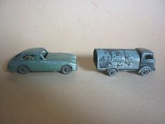 LESNEY ASTON MARTIN & REFUSE COLLECTOR - PARTS ONLY - http://www.matchbox-lesney.com/50127