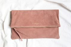 MAXI POCHETTE - ROSE - by Chouette Fille