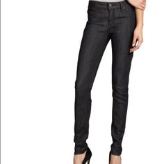 "Rich & Skinny Grey Coated Very flattering and slimming coated jeans. A great alternative to leather. Wear with sweaters, button ups, blazers! I have these in black and have not worn the grey. 2 front faux pockets. Skinny leg. 8"" rise, 30"" inseam. Stretch. Rich & Skinny Pants"