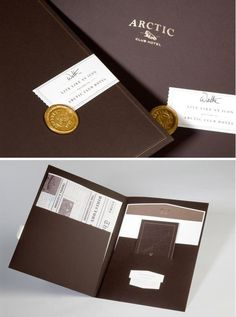 Live Like an Icon (great line) ... Arctic Club Hotel Branding by Urban Influence. Beautiful work!