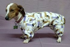 Built to your dogs measurements. I have available flannels but will build to your request.