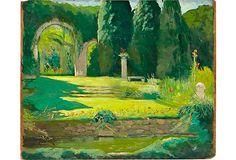 Oil Painting, Green Park on OneKingsLane.com