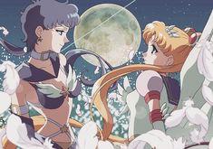 Sailor Star Fighter & Eternal Sailor Moon