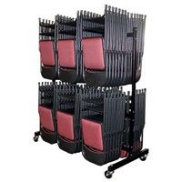 84-Chair Folding Chair Caddy for sale at Advantage Church Chairs