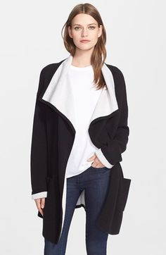 autumn+cashmere+Double+Face+Knit+Coat+available+at+#Nordstrom