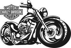 Harley Davidson Logo, Harley Davidson Kunst, Harley Davidson Wallpaper, Motor Harley Davidson Cycles, Harley Davidson Motorcycles, Motorcycle Stickers, Motorcycle Art, Bike Art, Harley Davison