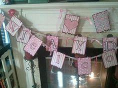 Banner for a Babyshower