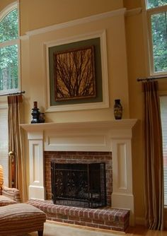 Brick Fireplace Design Ideas, Pictures, Remodel, and Decor - page 2