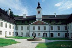 Slovakia, Svätý Anton - Koháryovský Mansion, a Collection of Hunting Trophies and historical Furniture