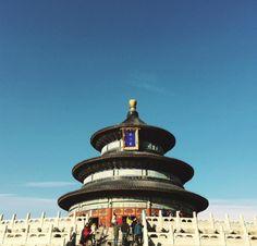 O Pagode da CHINA! Pequim é uma cidade maravilhosa, com muita cultura, gastronomia e paisagens lindíssimas.