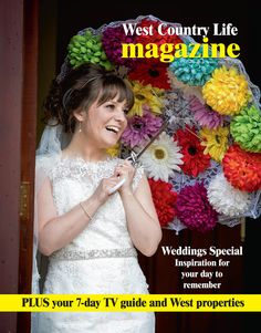 Front cover of West Country Life magazine in the Western Daily Press