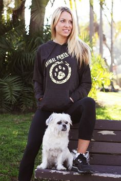 Animal Power Hoody - feel the power of a rescue dog. Now available at http://shop.rsquebrand.com/