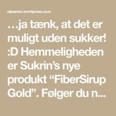 """…ja tænk, at det er muligt uden sukker! :D Hemmeligheden er Sukrin's nye produkt """"FiberSirup Gold"""". Følger du nedenstående opskrift lover jeg, at du får den helt rigtige kar…"""