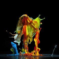 Incríveis fotografias de alta velocidade feitas com música 09