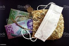New Zealand Money (NZD) Dollars with Face Mask A mixture of New Zealand Bank notes with a face mask and a woven kete bag. This image is for a Healthcare & Finance Concept. All Australasian Currencies Stock Photo Image Now, New Image, Bank Financial, Video New, Photo Illustration, Royalty Free Images, New Zealand, Finance, Notes