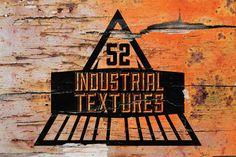 52 Handcrafted Industrial Textures - Textures - 1